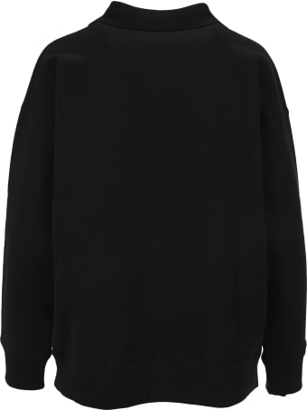 WE11 DONE Logo Patch Sweatshirt