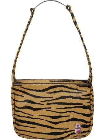 BY FAR Venice Tiger Print Shoulder Bag