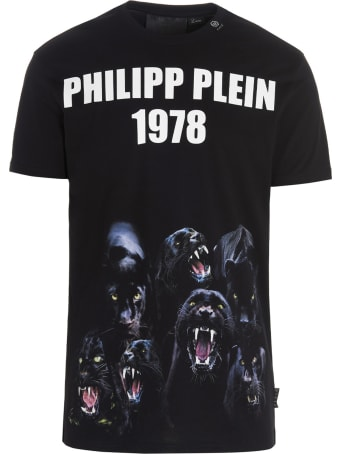 Philipp Plein 'panther' T-shirt