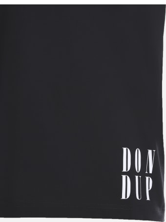 Dondup Cotton T-shirt With Contrasting Logo Print