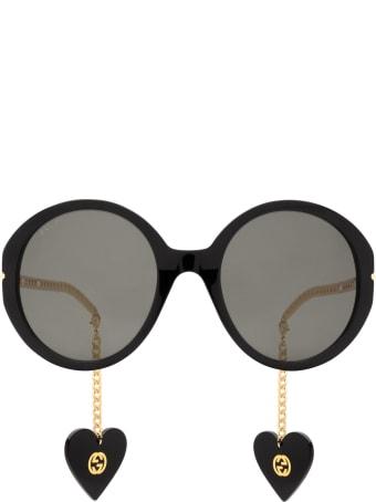 Gucci Gucci Gg0726s Black Sunglasses