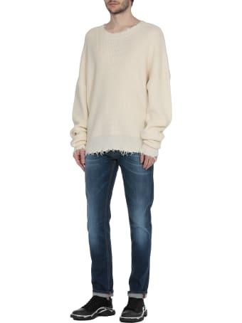 Ben Taverniti Unravel Project Cotton And Cashmere Sweater