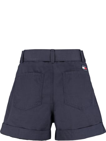 Tommy Jeans Cotton Shorts