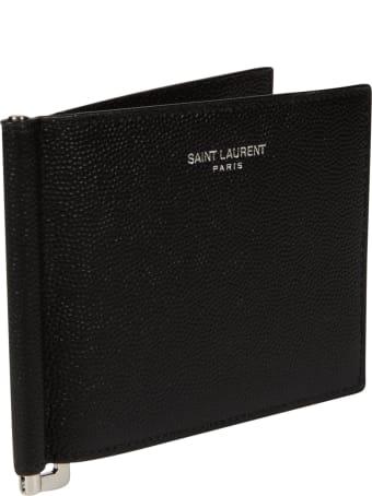 Saint Laurent Classic Logo Bifold Wallet