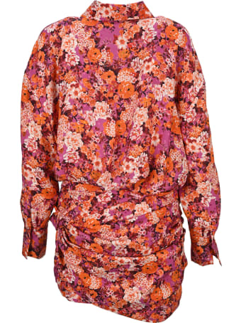 Magda Butrym Floral Print Shirtdress