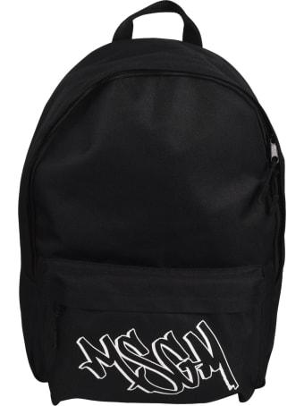 MSGM Graffiti Logo Backpack