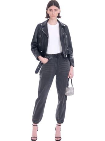 Alexander Wang Pants In Black Denim