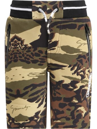 Givenchy Multicolor Short For Boy With Logo