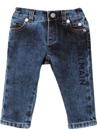 Balmain Baby Blue Jeans
