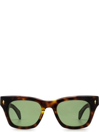 Jacques Marie Mage Jacques Marie Mage Dealan Havana 5 Sunglasses