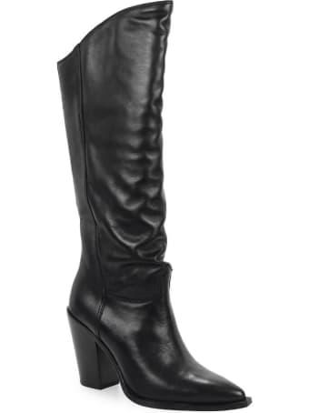 Ash Brandon Black High Boot