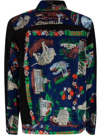 Sacai Printed All-over Jacket