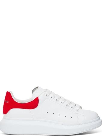 Alexander McQueen Larry Leather Sneakers