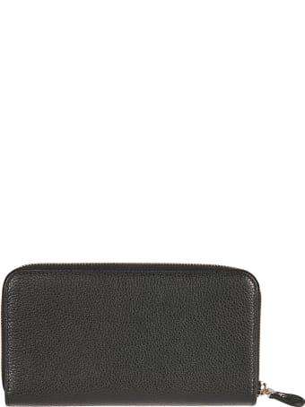 Salvatore Ferragamo Gancio City Zip-around Wallet