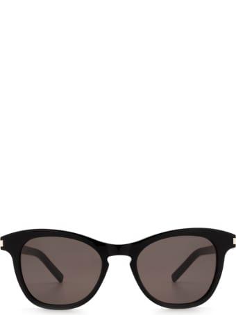 Saint Laurent Saint Laurent Sl 356 Black Sunglasses