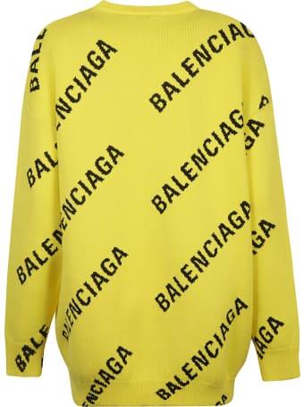 Balenciaga Logo Crewneck Pullover