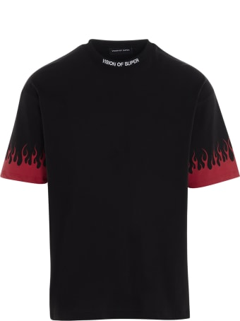 Vision of Super 'flame Red' T-shirt
