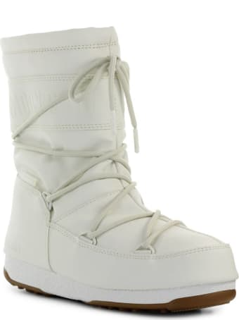 Moon Boot Mid Rubber Wp Cream Snow Boot