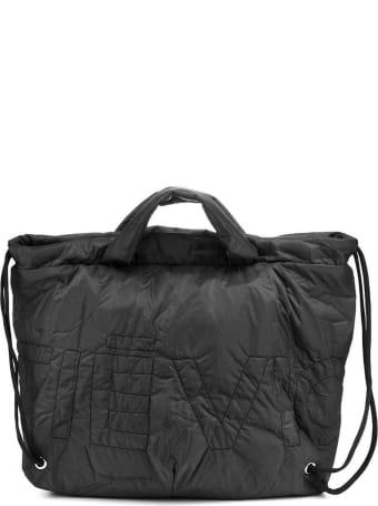 Vic Matié Collapsible Black Nylon Backack