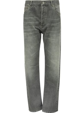 Brunello Cucinelli Five-pocket Leisure Fit Denim Trousers