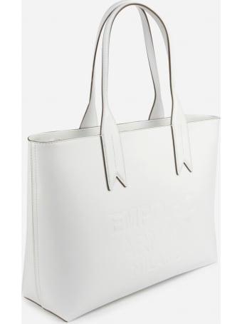 Emporio Armani Handbag With Tone-on-tone Embossed Logo