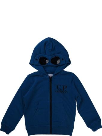 C.P. Company Sweatshirt With Zip And Octanium Hood