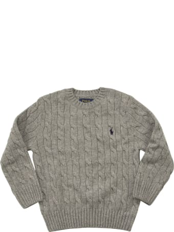 Ralph Lauren Wool And Cashmere Cable-knit Sweater