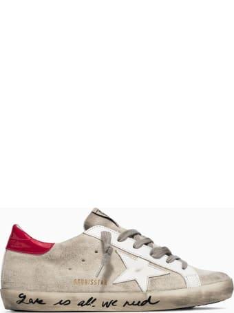 Golden Goose Deluxe Brand Super Star Suede Sneakers Gwf00101 F001600