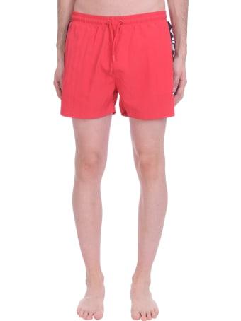 Fila Sho Beachwear In Red Polyester