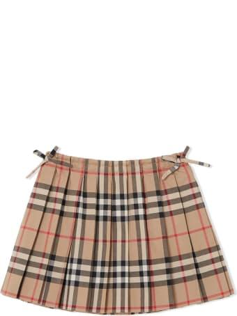 Burberry Vintage Check Cotton Skirt