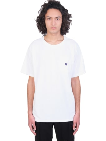 Needles T-shirt In White Polyester