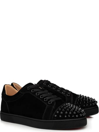 Christian Louboutin Vieira Spikes Sneakers