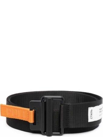 HERON PRESTON Black Taping Belt