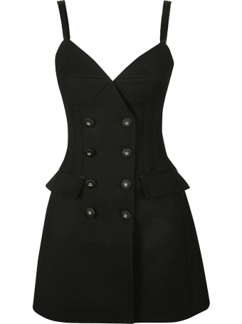 Dolce & Gabbana Double-breasted Flared Mini Dress