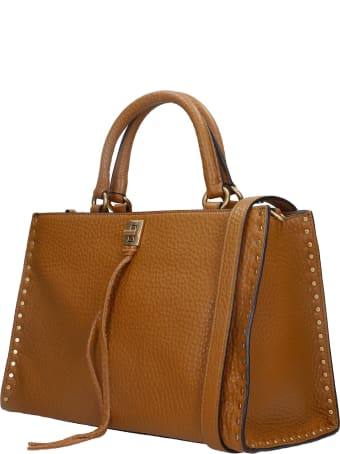 Rebecca Minkoff Darren To Zip Shoulder Bag In Leather Color Leather