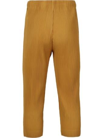 Issey Miyake Pleated Crop Pants