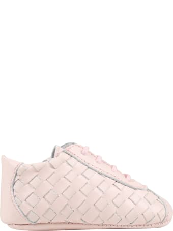 Gallucci Pink Shoes For Babygirl