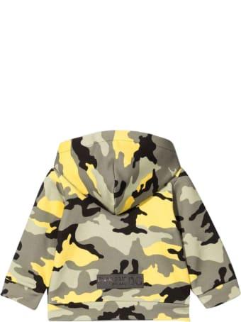 Dolce & Gabbana Camouflage Print Hoodie