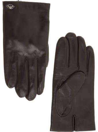 Emporio Armani Eagle Gloves