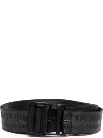 Off-White Black Classic Industrial Belt