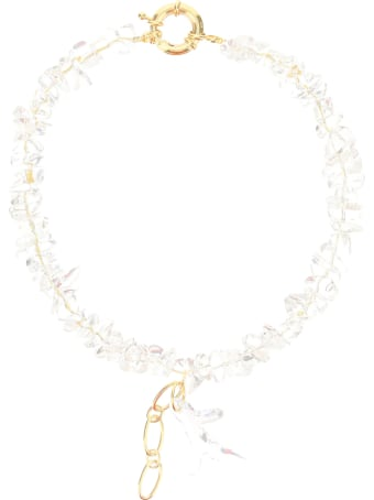 Timeless Pearly Necklace With Transparent Pearls