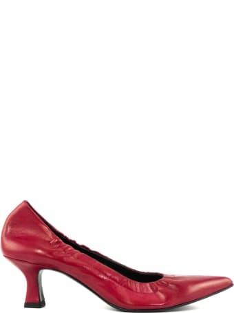 Aldo Castagna Sacchetto Pumps In Red Leather