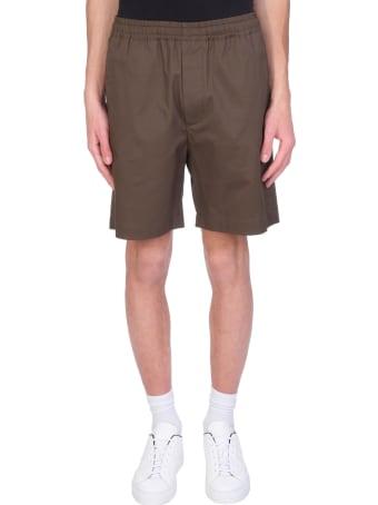 Mauro Gasperi Shorts In Green Cotton