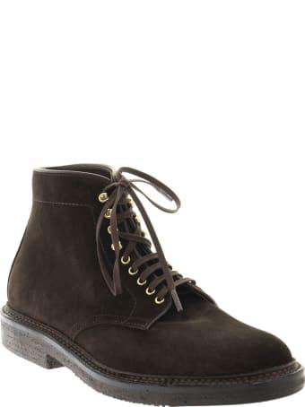 Alden Brown Suede Boot
