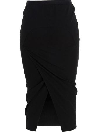 Rick Owens 'pillar' Skirt