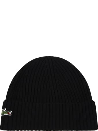 Lacoste Black Hat For Kids