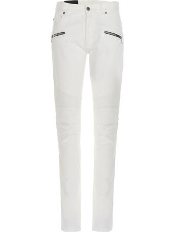 Balmain 'biker' Jeans