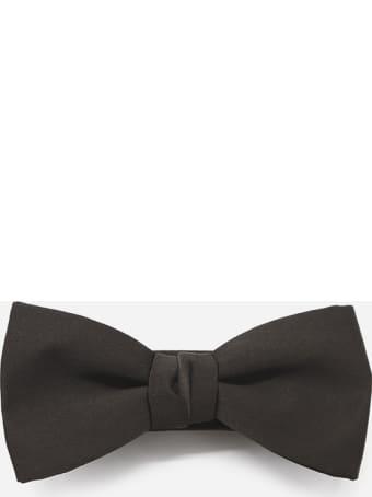 Lanvin Monochrome Bow Tie Made Of Silk