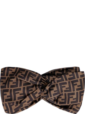 Fendi Silk Braided Headband