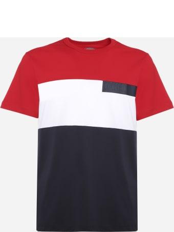 Colmar Tricolor Cotton T-shirt With Rubber Effect Logo